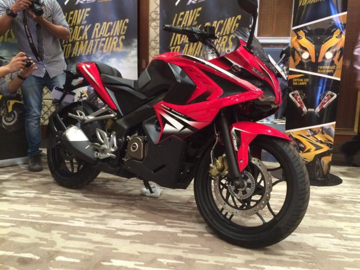 Upcoming Bikes in India in 2017-2018 - Bajaj Pulsar RS 400