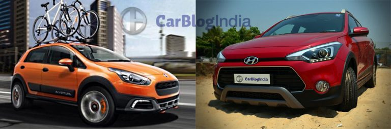 Hyundai i20 Active vs Fiat Avventura