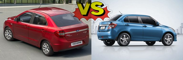 Ford Figo Sedan vs Maruti Swift Dzire : Should Maruti Be Worried?