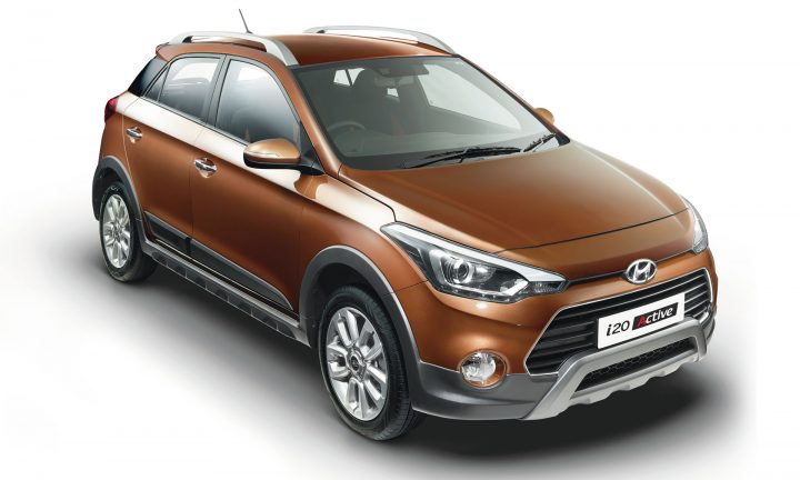 i20 Active top front angle