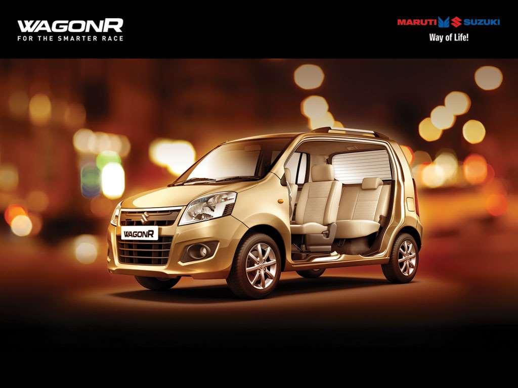 2015 Model Maruti Wagon R Facelift Launch Pics Details