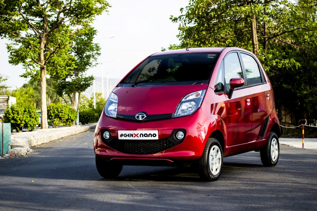 Lowest Maintenance Cars in India - the Tata Nano is among cheapest cars to maintain in india