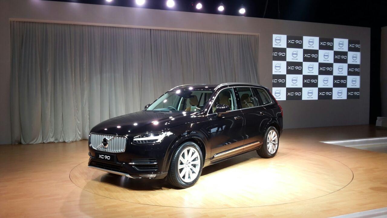 2015 Volvo Xc90 India Launch Pics Video Price Features