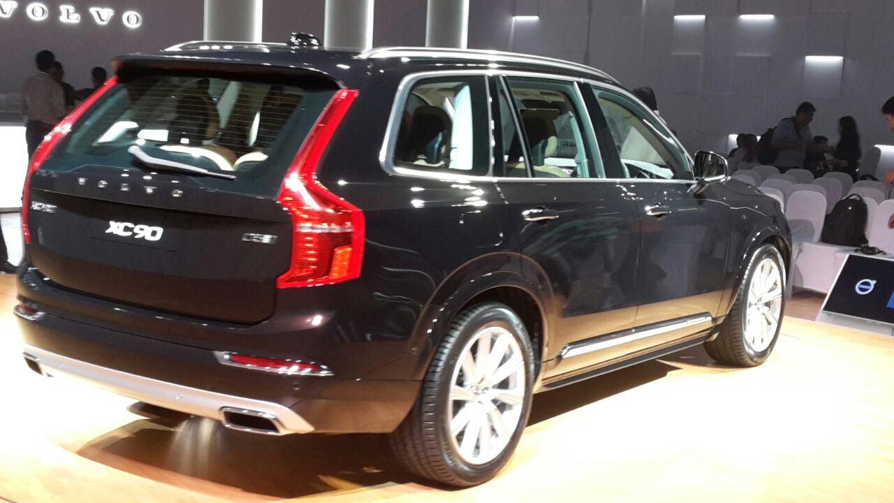2015 Volvo Xc90 India Launch Pics Video Price Features
