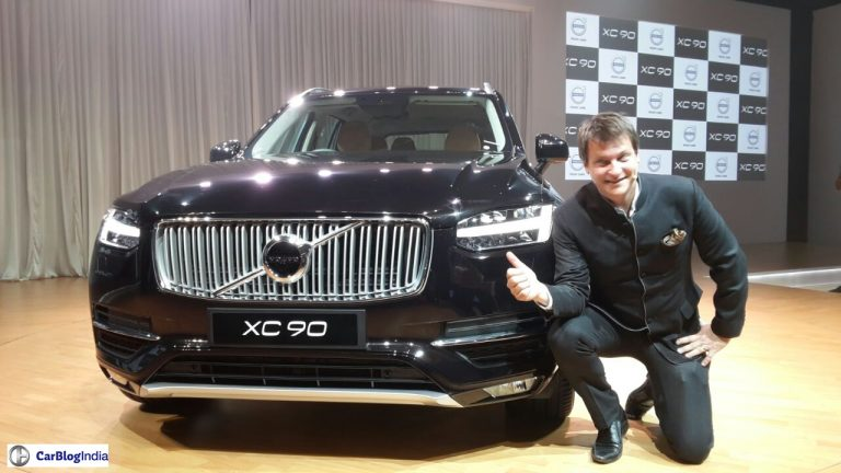 2015 Volvo XC90 Bags 266 Pre-orders in India