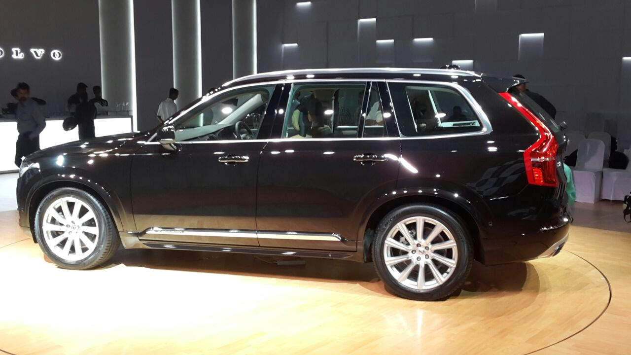 2015 Volvo Xc90 India Pics 8 Carblogindia