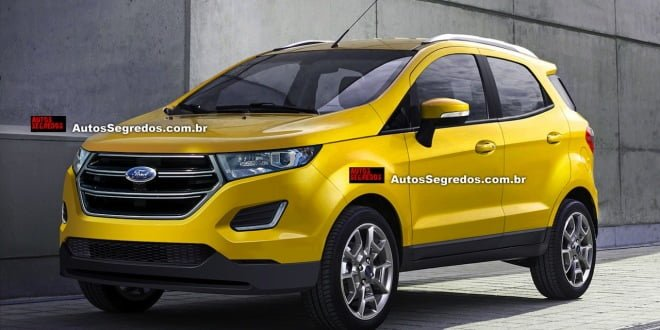 2016-model-ford-ecosport-yellow-pics