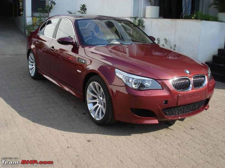 cars of sachin tendulkar BMW M5 E60 sachin