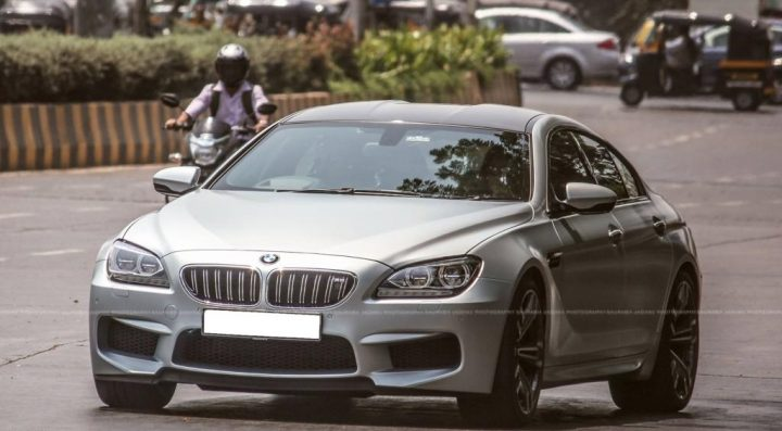 cars of sachin tendulkar BMW M6 Gran Coupe sachin