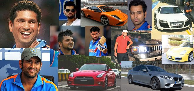 Indian Cricket Stars and Their Cars – Hummers, Audis, Ferrraris and more