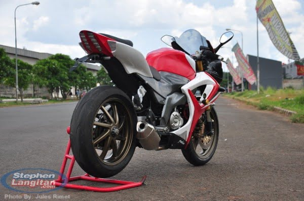 modified bajaj pulsar 220 -Rouser-220-Pics-Rear
