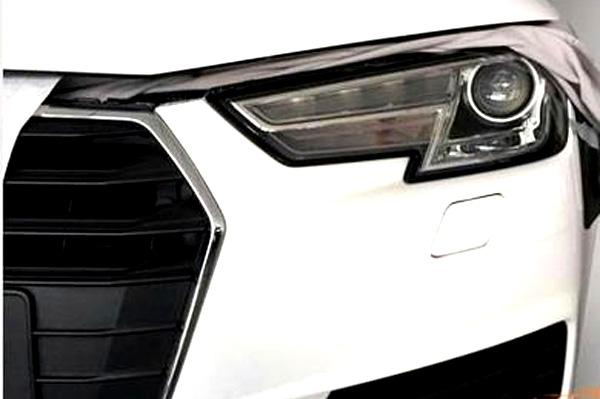 New Audi A4 headlamp