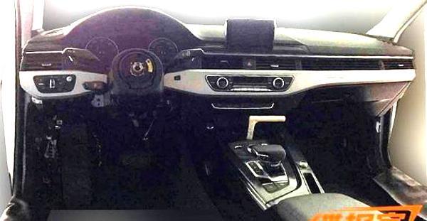 New Audi A4 interiors