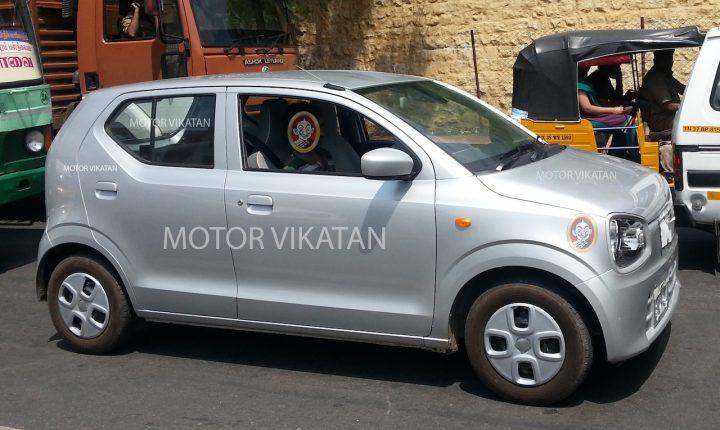 Japanese Suzuki Alto India Pics, Specs, Launch, Details