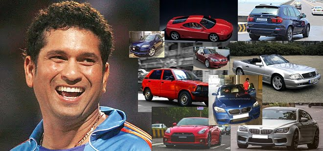 cars of sachin tendulkar Sachin and his cars