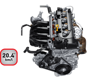 Swift petrol vvt-engine