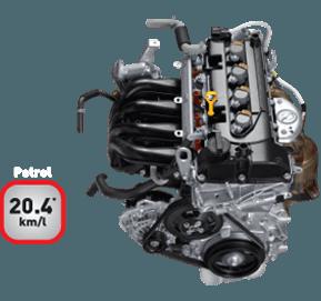 Swift petrol vvt-engine