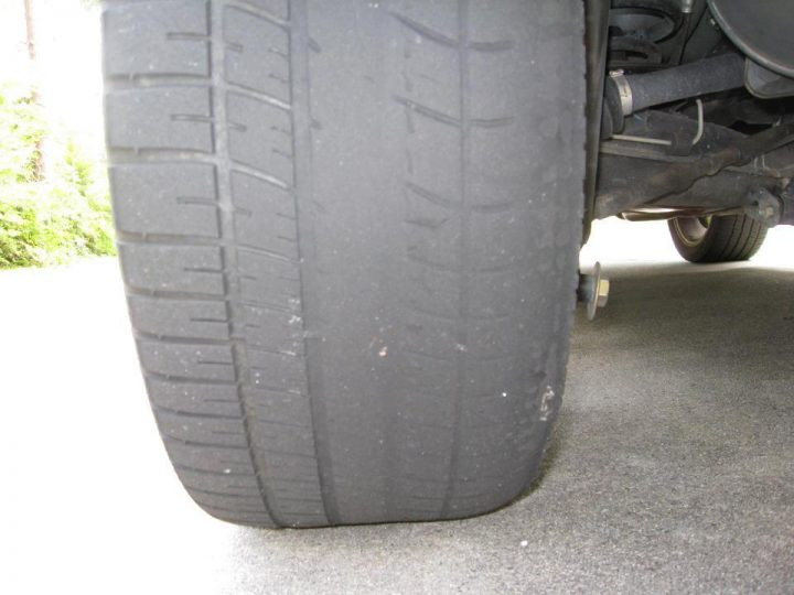 Improper wheel alignment can cause uneven tire wear