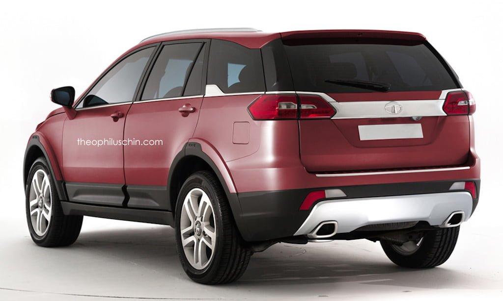 Upcoming tata premium suv q501 pics launch details for Tata motors range rover
