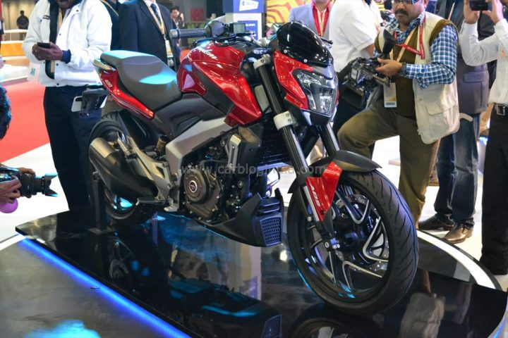 bajaj bajaj Dominar 400 side image launch date