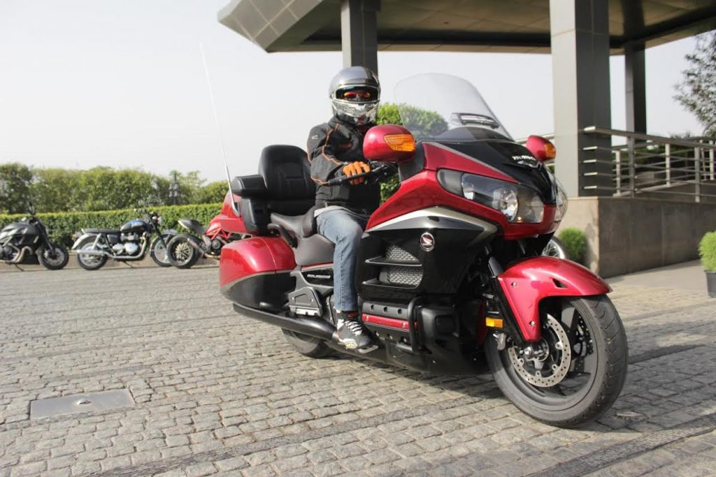 Honda Big Bike Congratulatory Ride Gold Wing