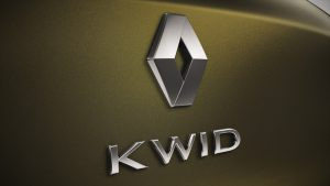 Renault Kwid badge