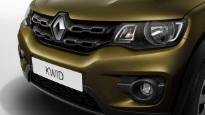 Renault Kwid headlamps