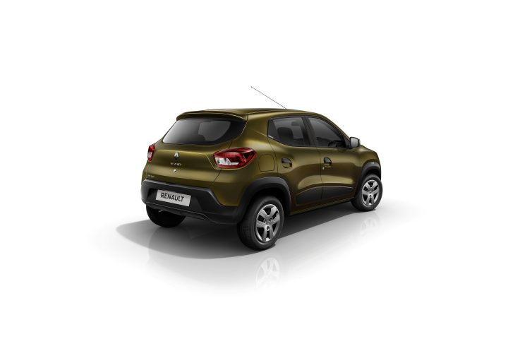 Renault Kwid rear angle 2