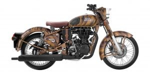 Royal Enfield Classic 500 desert storm side