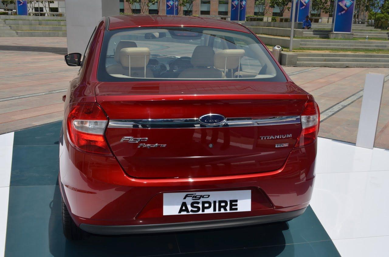 Ford Figo Aspire Sedan India Launch Pics Price