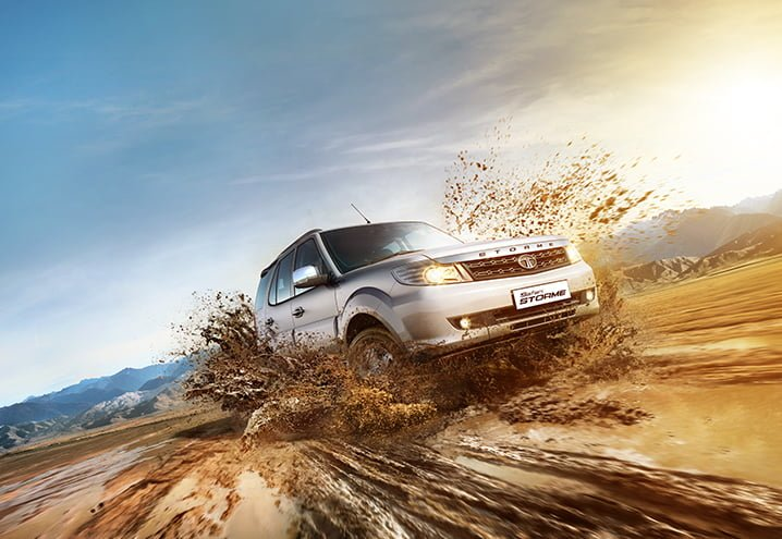 tata safari storme varicor 400 action photo official