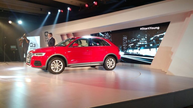 LIVE From 2015 Model Audi Q3 (Facelift) India Launch Event; Price – 28.99 Lacs [Pics & Details]