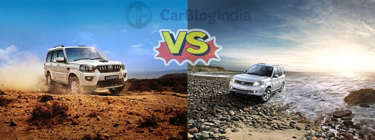 2015 Tata Safari Storme vs Mahindra Scorpio
