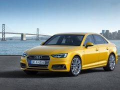 Audi-A4_2016_Yellow_Front-Angle_Pics