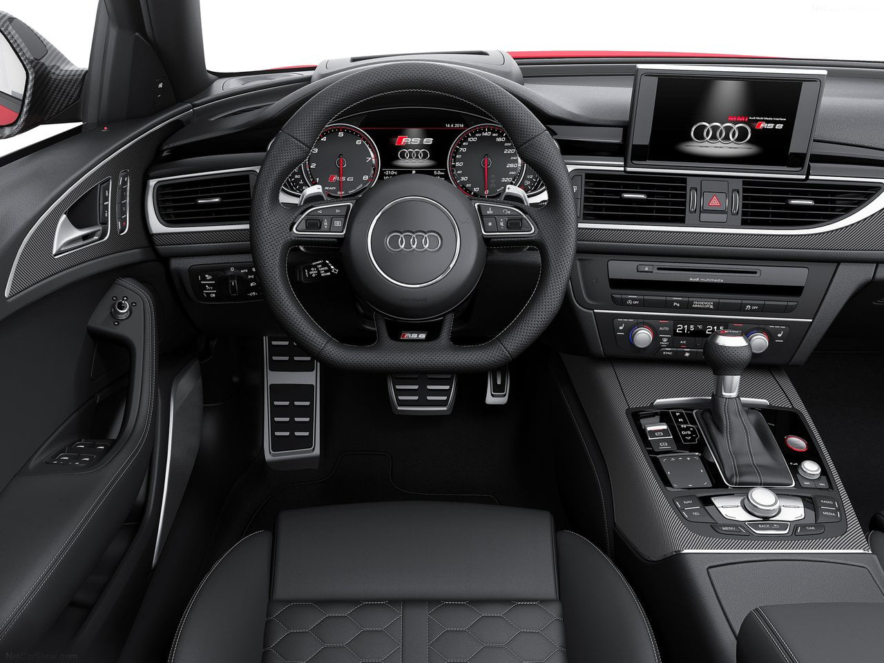 Audi Rs6 Avant 2015 India Pics Interior Carblogindia