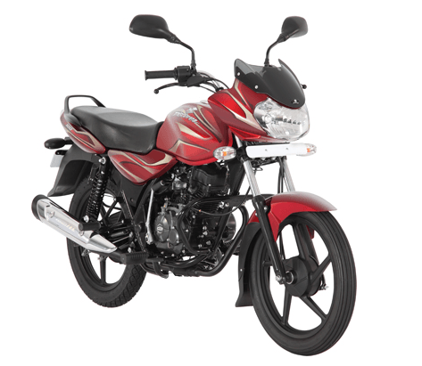 All Reviews >> Bajaj Discover 100 red bike - CarBlogIndia
