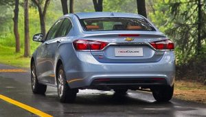 Chevrolet Cruze 2015 China Pics Rear Angle
