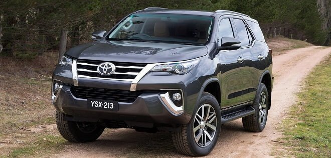 New Model Toyota Fortuner 2016 – Pics and Details