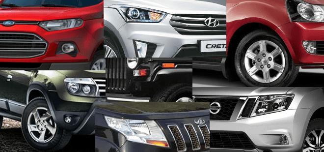 Most Fuel Efficient SUV Cars in India price, specs, mileage, images and details including the Vitara Brezza, EcoSport, Creta, TUV300, Duster, Terrano, BR-V