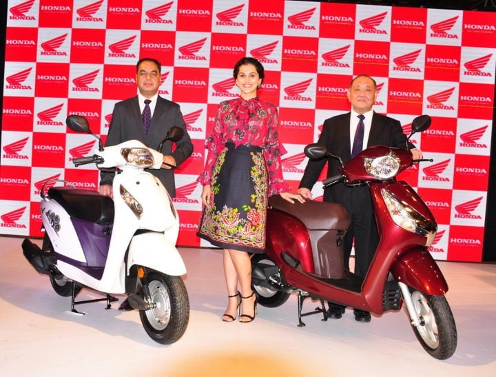 Hond activa i and aviator launch