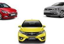 Honda Jazz vs Hyundai i20 vs VW Polo