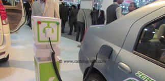 Mahindra Verito Electric auto expo