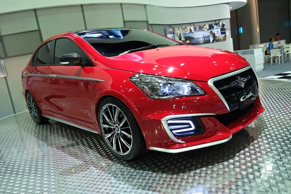 Suzuki Ciaz Special Limited Edition Thailand Pics Features