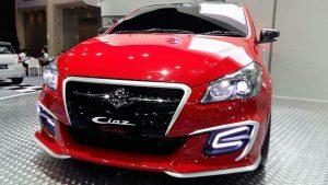 Maruti Ciaz custom thailand front close up
