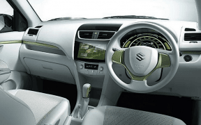 Maurti Swift Hybrid dash