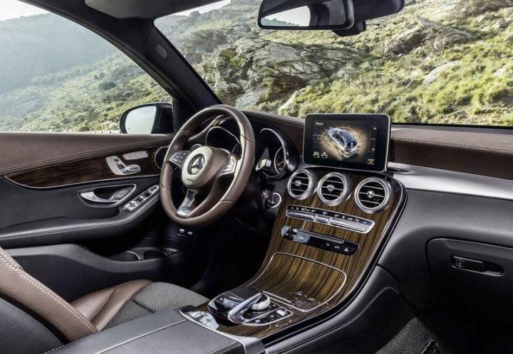 Mercedes GLC India