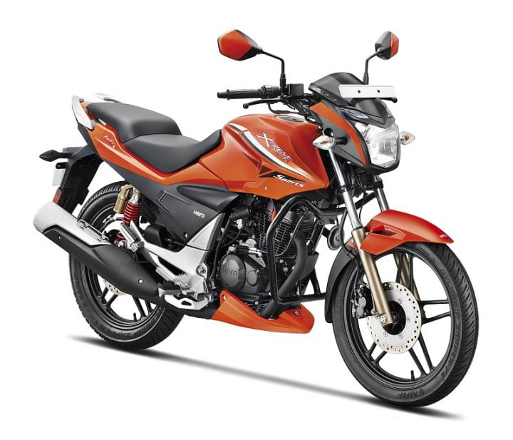 New Hero Xtreme Sports Pyro Orange