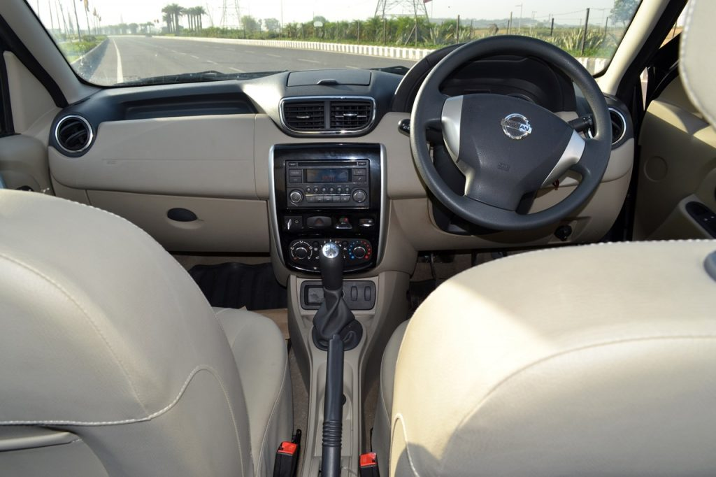 Nissan Terrano Petrol Review Images Interior Dashboard