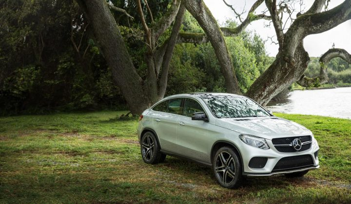 The all-new Mercedes-Benz GLE Coupé on location at the set of Jurassic World_1