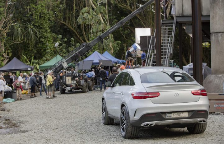 Jurassic World Mercedes GLE Coupe
